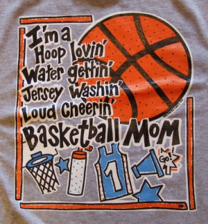 Basketball Mom-I need one of these!