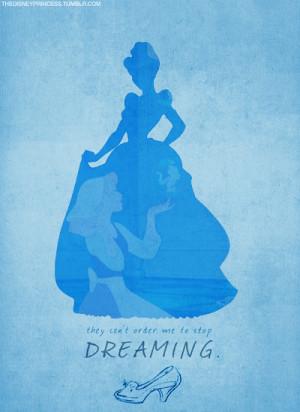 cinderella, disney, disney princess, dream, dreaming, quote, stop me ...