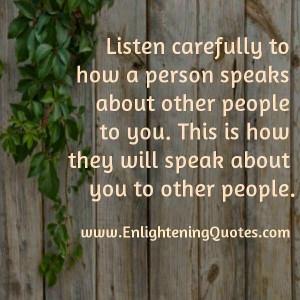 Inspirational Quotes - Gossip