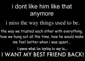 Want My Best Friend Back photo IWantMyBestFriendBack.jpg