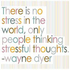 No stress! More
