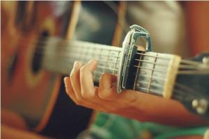 唯美吉他图片 吉他唯美意境图片(2)