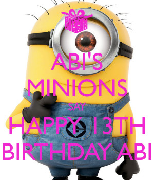 birthday to me minions i am in love with the minions hqdefault jpg ...