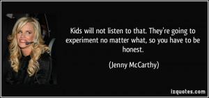 More Jenny McCarthy Quotes