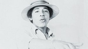 Cool: Barack Obama in 1980 when he was a student at Occidental College ...