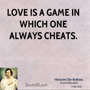 Honore de Balzac Love Quotes