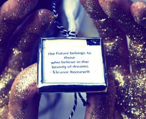 dreams, glitter, quote, text
