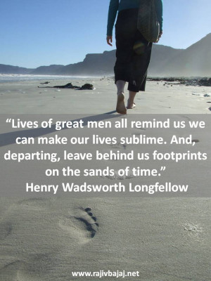 Footprints Quote The Day