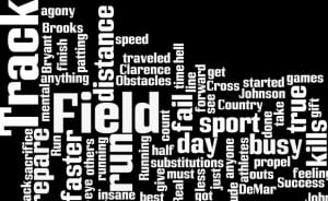 Track and Field Quotes for T-shirts