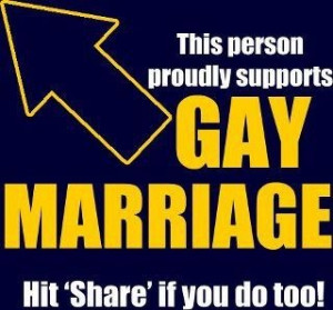 Support Gay Marriage By Sharing This...xxx