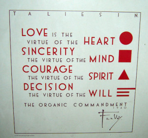 Frank Lloyd Wright Taliesin W galenfrysinger.com