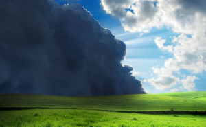 Storm Clouds Meet Sunshine - Photo courtesy of ©iStockphoto.com ...