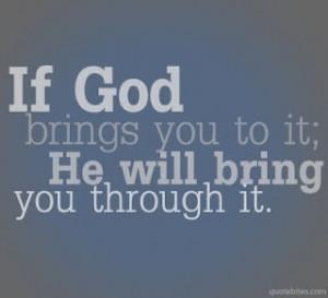 Have faith and believe