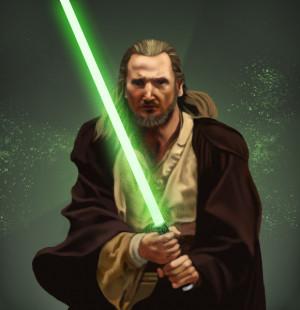 Qui Gon Jinn And Obi Wan...