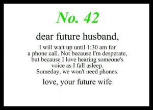 To My Future HusbandDear Future Husband Quotes, Dear Future Husband ...