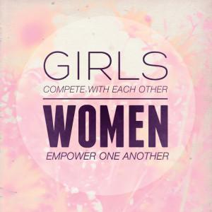 Girls Compete. Women Empower.