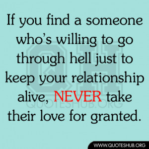 all give and no take relationship
