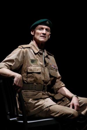 Colm Feore as Macbeth in Macbeth 2009 Director Des McAnuff Designer