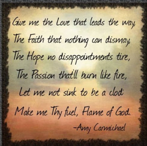 Amy Carmichael Prayers | Amy Carmichael