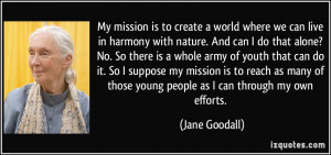 More Jane Goodall Quotes