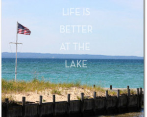 ... Decor, Beach Wall Decor Inspirational Quote, Motivational, Lake Quotes