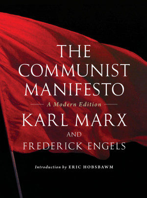 a study of karl marx and his communist manifesto Moving to london, he wrote the communist manifesto (1848) which expressed his position on the future of communism and capitalism shortly after the communist manifesto was published, a.