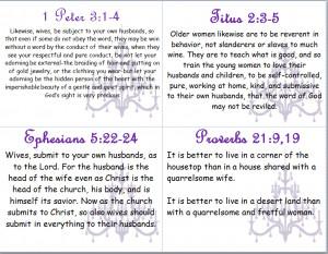 Bible Verses on Biblical Womanhood