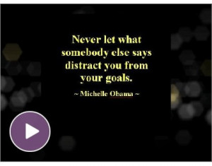 ... very short video I created of some of my favorite motivational quotes