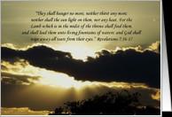 Christian Sympathy Bible Verses Sympathy scripture card