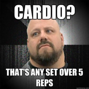 what is cardio?? Lol
