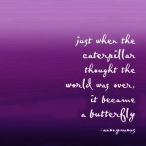 butterfly change picture quote