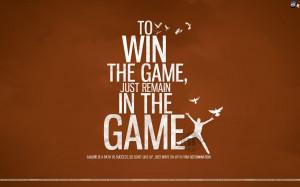 Motivational wallpaper on Winning : Quote on Winning