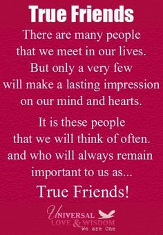 The loyal, the truthful..the ones I know are my true sistas... I am ...