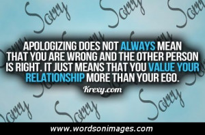 Sorry friendship quotes