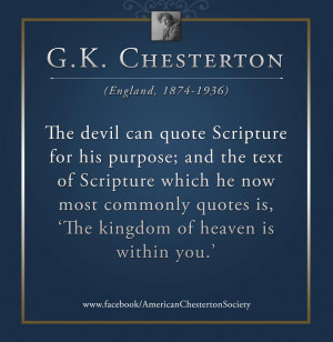 When the Devil Quotes Scripture