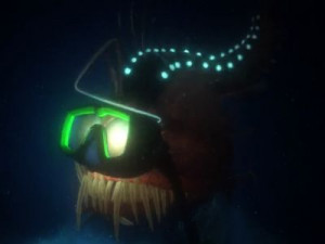 Quotes jacques damselfish quotesgram for Finding nemo angler fish