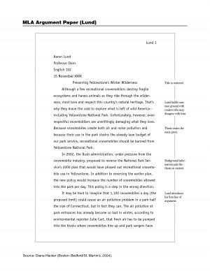 Mla Style Essay Rules