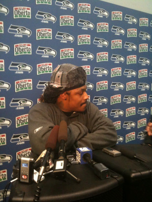 Marshawn Lynch Discusses Earthquake Preparedness While Wearing A Sweet ...