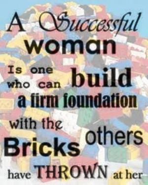 successful woman's take on