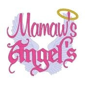 mamaw s angel s personalized shirt grandma board angel person mamaw ...