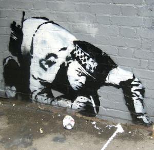 Graffiti and stencils - Stencil art