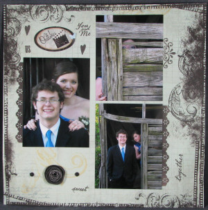 Prom Princess Scrapbook Layout All Scrapped Out