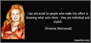More Vivienne Westwood Quotes