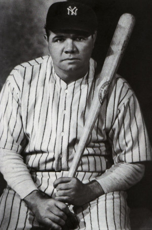 Babe Ruth, who played for the Baltimore Orioles, Boston Red Sox, and ...
