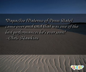 Quotes About Joe Paterno