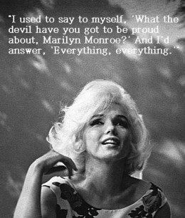 Quotes by Marilyn Monroe on Being a Woman