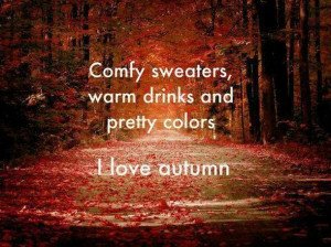 autumn, cute, fall, quote, quotes, sweater weather