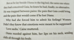 Caine & Diana. Michael Grant. Gone series.