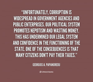 Quotes About Government Corruption