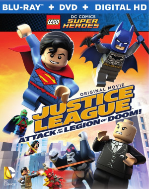 LEGO DC – Justice League: Attack of the Legion of Doom! (US - DVD R1 ...